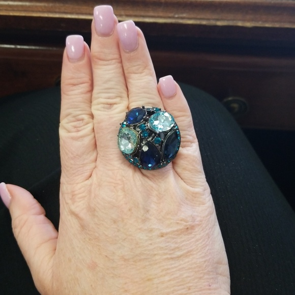 unknown Jewelry - Blue ring